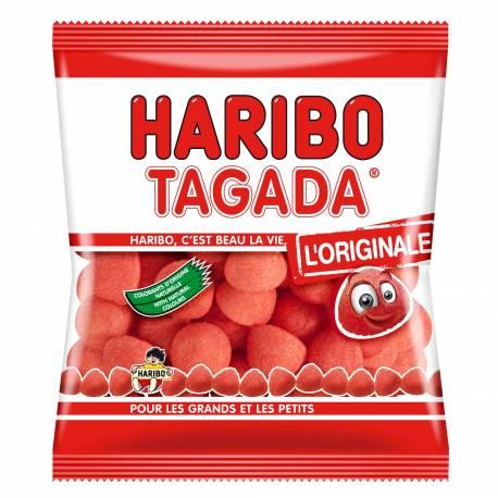 Sachet de 120 gr de fraise Tagada Haribo