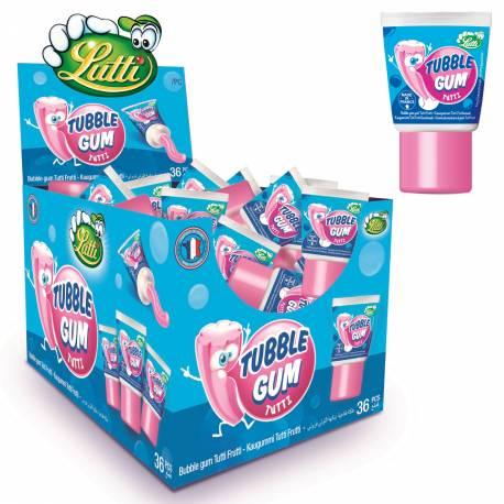 Célébre tube de chewing gum des années 80 au goût tutti frutti