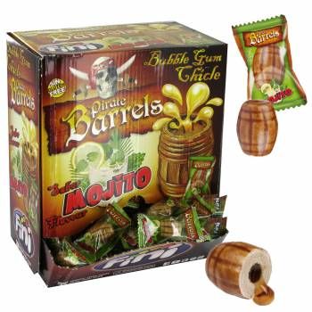 20 Chewing gum baril Pirate