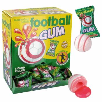 20 Chewing gum Football Finiboom