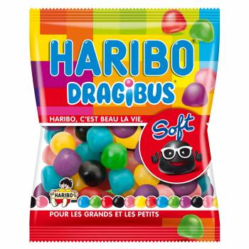 Bonbons Dragibus Haribo soft 120gr