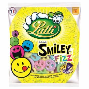 Bonbons Lutti Smiley fizz 90gr