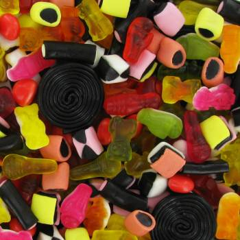 Bonbons Haribo Tirlibili 2Kg