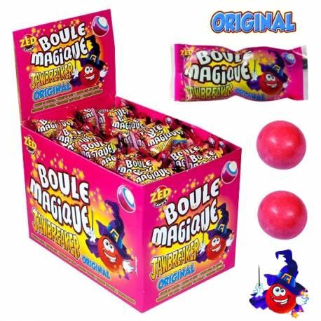 Les célèbres boules de chewing gum magique jawbreaker original changent de goût au fur et à mesure qu'on les déguste Lot de 10 sachets...
