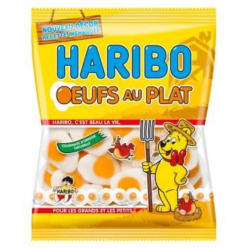 Bonbons Haribo Oeufs au plat 120gr