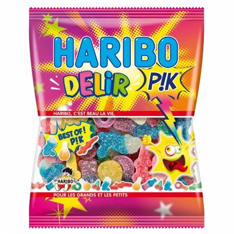 Sachet de 120 gr de bonbons Haribo. Assortiment de tous les meilleurs bonbons Haribo qui piquent !