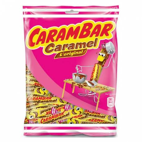 Sachet de 130 gr de Carambar au caramel, l'original !