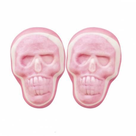 Superbes bonbons gélifiés aux fruits en forme de tête de mort pour la fête d'Halloween ! Poids 1Kg
