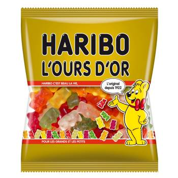 Bonbons Ours d'or Haribo 120gr