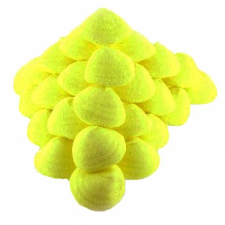 Boule de guimauve sucré au goût de banane Ces bonbons sont vraiment idéaux pour faire des brochettes, recouvrir les gâteaux de bonbons...
