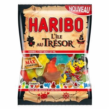 Bonbons Haribo L'île aux trésor 120g