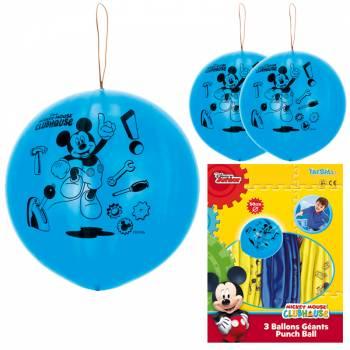 3 Ballons à frapper géant Mickey mouse