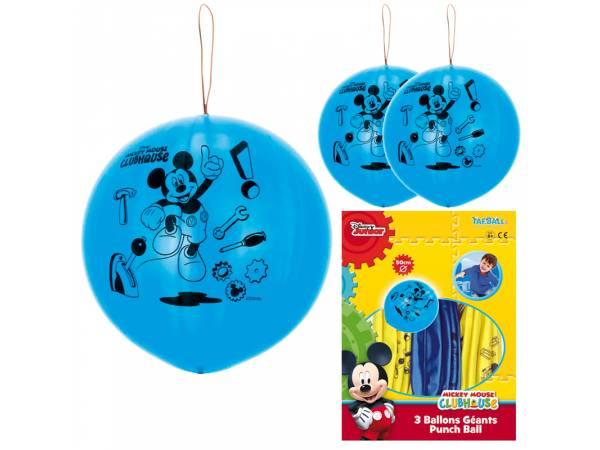 Ballons à frapper géant Mickey mouse- deco anniversaire