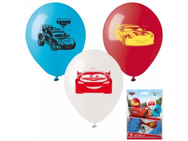 Ballons Cars en latex- deco anniversaire