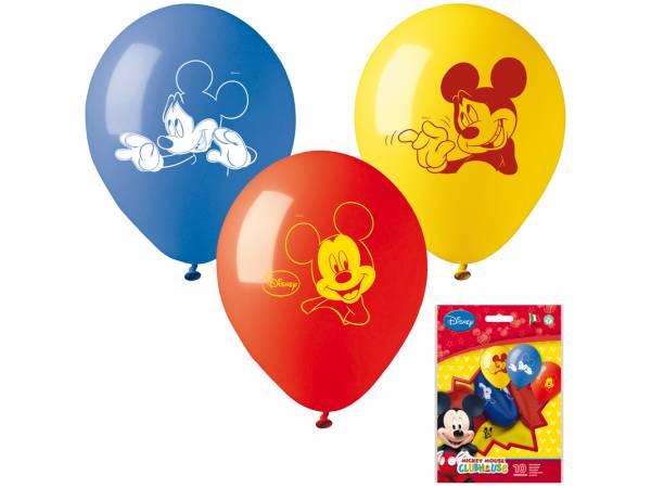 Ballons Mickey en latex- deco anniversaire
