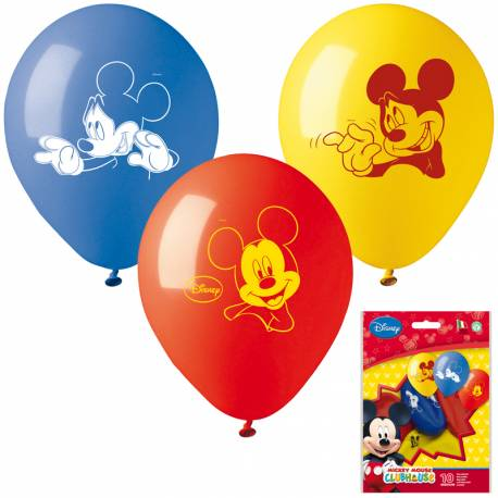 ballons mickey en latex deco anniversaire. Black Bedroom Furniture Sets. Home Design Ideas