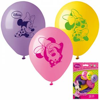 10 Ballons Minnie