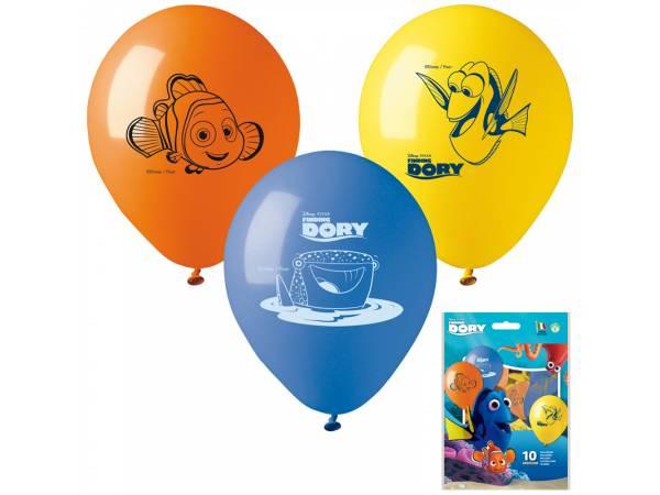 Ballons anniversaire en latex Nemo
