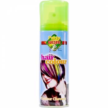 Laque cheveux fluo vert