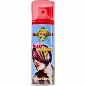 Laque cheveux fluo rouge