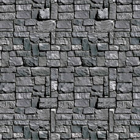 Donnez une ambiance de château en 1 clin d'oeil à votre salle de fête à l'aide de ce rouleau de toile en plastique impression mur de...