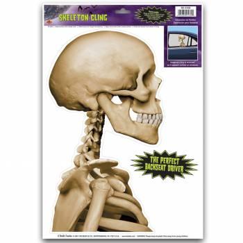 Autocollant Buste squelette