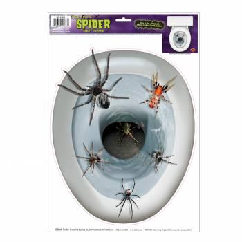 Déco WC Araignée