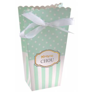 6 Boîtes à bonbons Monsieur chou