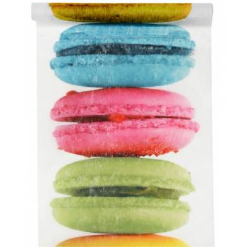 Chemin de table Macarons