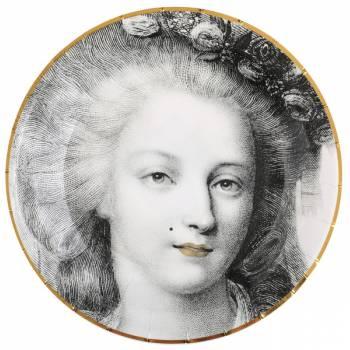 10 Assiettes Versailles La Reine
