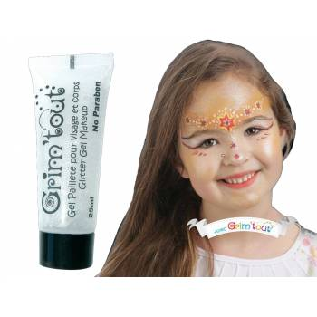 Maquillage gel pailleté Cristal