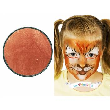Galet maquillage 20 ml Cuivre métallique