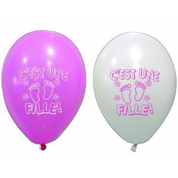 8 Ballons C'est une fille