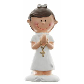 2 Figurines communion fille