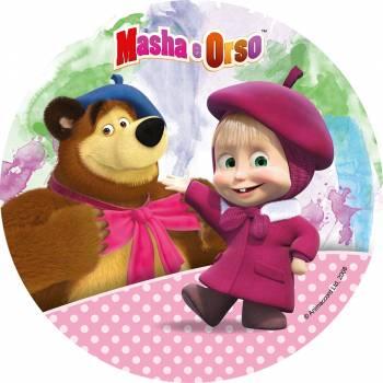 Disque en sucre Masha et Michka 4