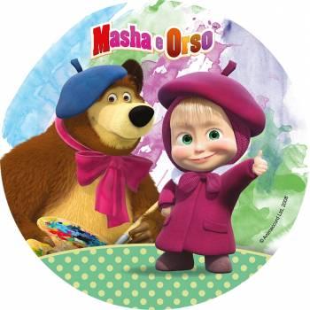 Disque en sucre Masha et Michka 3