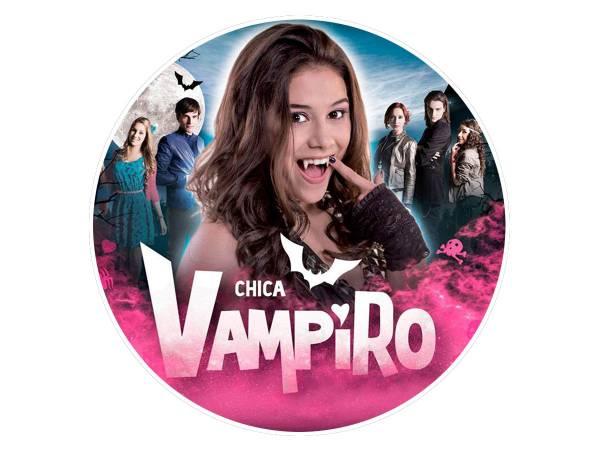 Decor Comestible Gateau Chica Vampiro