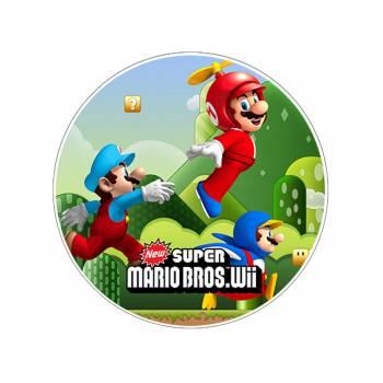 Disque sucre Mario Bros