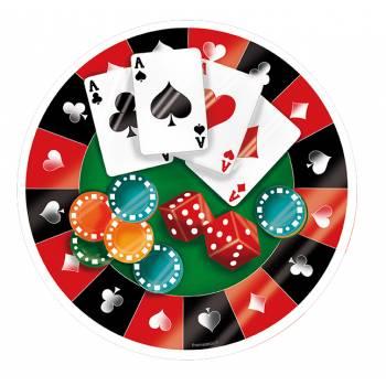 Décor sur sucre Poker