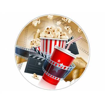 Decor sur sucre Cinema Pop Corn
