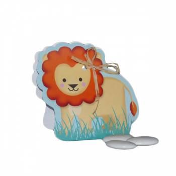 5 Ballotins à dragées Lion