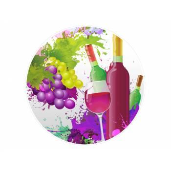 Décor sur sucre vin
