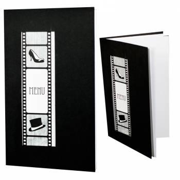 5 Cartes vierges menu Cinéma