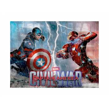 Décor sur sucre Capitaine America Civil War A4