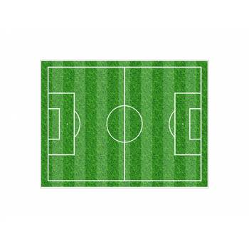 Decor sucre Terrain de foot A4
