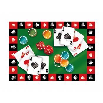 Décor sur sucre Poker A4