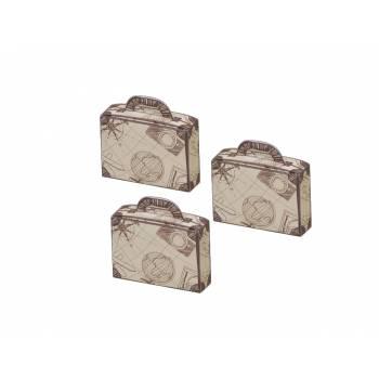 10 Boîtes à dragées Valise