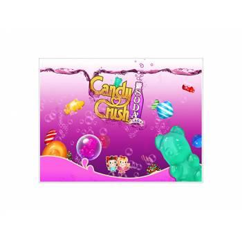 Décor sur sucre Décor Candy Crush A4