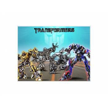 Décor sur sucre Décor Transformers A4