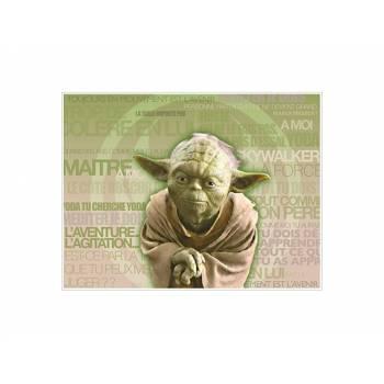 Décor sur sucre Décor Yoda A4